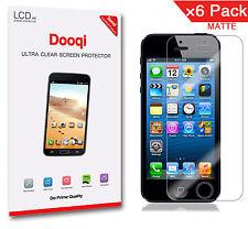 6X Dooqi Matte Anti Glare Screen Protector Guard For Apple iPhone 5 5s 5c SE
