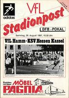 DFB-Pokal 87/88 VfL Hamm - KSV Hessen Kassel, 29.08.1987 - Johannes Puhl