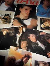 """A-HA  A HUGE GIANT SIZE POSTER AS WELL AS EXTREMELY RARE FROM 1986  40"""" X 60"""""""