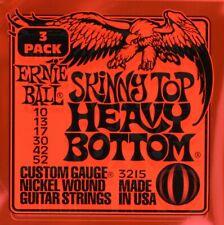 3 sets Ernie Ball Skinny Top Heavy Bottom 10-52 3215 2215 Electric Guitar String