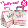 Unicorn Party Favor Bags - Goodie Treat Gift Bag for Girls| Candy, Party Favors
