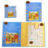 Learn French words book flash cards dictionary sticker book pack from Usborne