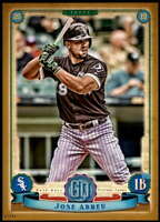 Jose Abreu 2019 Topps Gypsy Queen 5x7 Gold #288 /10 White Sox