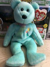 Ariel retired 2001 TY Beanie Buddy 9in flower teddy bear 9409