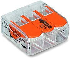 Wago Terminal Compact 3-leiter À 4 Millimètres Carrés 221-413
