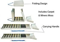 """50"""" Folding Aluminum Sluice Box Extended 50"""" Folded 15"""""""