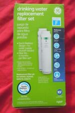 GE FQSVF Dual Stage Drinking Water System Replacement Filter 2 Pack Set New