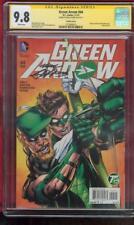 Green Arrow 44 CGC SS 9.8 Neal Adams Signed Green Lantern 75th Ann Top 1 Variant