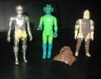 Vintage star wars lot (4) Greedo Dengar death star droid chief chirpas hood