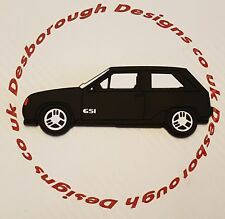 Vauxhall Key Anello Nova / Opel Corsa GTE GSI Fridge Magnet in Black