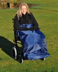Wheelchair Apron - Standard Or Lined - 100% Waterproof Wheelchair Leg Cover