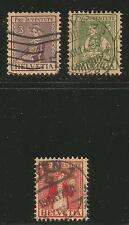 Switzerland 1917 Pro Juventute Local Customes--Attractive Topical (B7-9) used