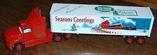 Christmas Seasons Greetings Del-Wood Kitchens Hanover, PA '94 Winross Truck
