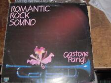 """LP 12"""" GASTONE PARIGI ROMANTIC ROCK SOUND TRUMPET/TROMBA LOTUS EX/EX+"""
