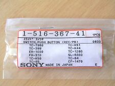 Sony Push Switch Button (REC/PB) For Sony TC-7960 TC-399  - Part 1-516-367-41