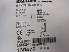 NEW BALLUFF BES-M12MF-GSC30B-S04G SENSOR BESM12MFGSC30BS04G