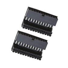 2 Teilige ATX 24P Buchse auf 24P Stecker 90 Grad Adapter für Desktop PC Netzteil