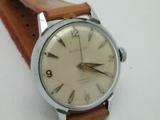 VINTAGE 1950S WESTCLOX 17 JEWELS MANS WRIST WATCH NEEDS CLEANING ONLY