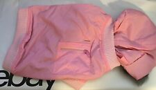Snooty Dog Coat Spring Pink Parker Fur Lined Hood Poly Lining #996B 10-14 inch