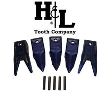 X156T + X156WT Rock Kit Hensley Style Bucket Teeth + Pins, by H&L Tooth Co. 156