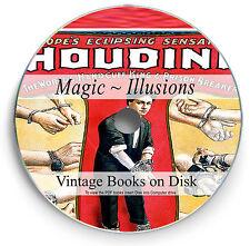 Rare Magic Illusion Books on DVD Learn Secret Conjuring Card Tricks Houdini 277