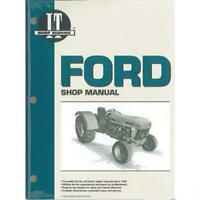 I&T Shop Manual Fits Ford Tractor - 3230, 3930, 4630, 4830