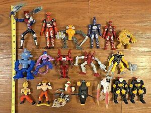 Lot of 19 Japanese Anime Figurines, Figures, Dragon Ball Z, Storm Hawks Bionicle