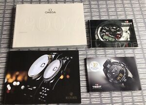 watch catalogues Rolex omega & price list 2007 & 2 tissot catalogues 2007 & 2014