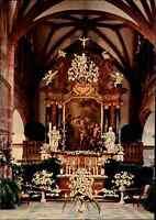 Kirchen Motiv-Postkarte Innenansicht Schloss Kirche Kapelle in Heidelberg color