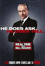 Real Time With Bill Maher Poster #01 24x36