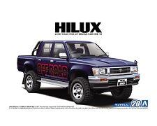 Aoshima 1/24 Toyota Hilux LN107 Double Cab 4WD 1994 PLASTIC MODEL KIT 5228