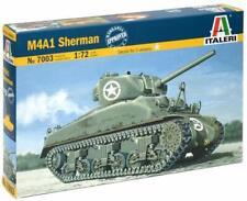 "Italeri  #7003  1:72 scale M4 A1 ""Sherman""    NIB    US WWII tank"