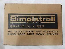 MIKI PULLEY Simlatroll Kawasaki POWER SUPPLY BER-10 BER10 200VAC New Surplus