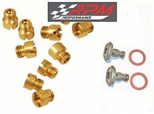 Holley Carburetor 1/4-32 MAIN JETS KIT 50-109 ANY SIZE 10 PACK & 2 POWER VALVES