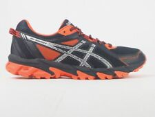 Mens Asics Gel Sonoma 2 T634N Black Lace Up Trail Running Shoes Trainers