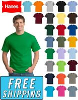 Hanes 5250 Tagless 100% Cotton Comfort Blank T-Shirt