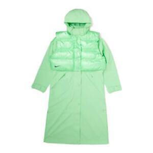 Nike Sportswear City Ready Hooded Jacket 2in1 Green Size M CJ4018 386