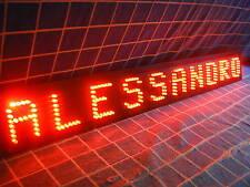 SCRITTA a LED PERSONALIZZABILE per CAMION 12 o 24V - PREZZO di 1 CARATTERE 5 cm