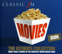 Various Performers : Classic FM Movies: The Ultimate Collection CD 3 discs - NEW