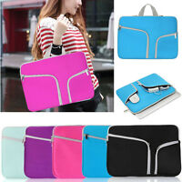 Sleeve Zipper Laptop Carry Bag Case For MacBook Air Pro Retina 11.6 12 13.3 15.4