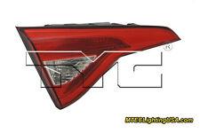 TYC Left Inner Side Tail Light Lamp Assembly for Hyundai Sonata 2015