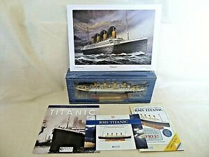 Atlas Editions RMS TITANIC Diecast Model Ship 1:1250 Scale / 2017 Boxed SEALED