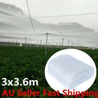 3x3.6m Garden Plant Netting Mosquito Insect Bird Net Hunting Barrier Protect