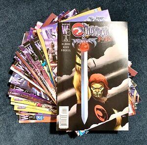 Lot (23) THUNDERCATS RETURN #1-5 ORIGIN,  REVENGE #1-5 SUPERMAN #1 W/ VARIANTS