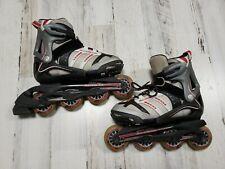 Rollerblade Micro Blade Gray/Red Inline Roller Blade Skates Size 2-5