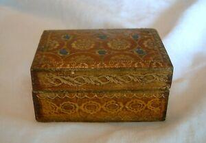 Vintage Italian FLORENTINE Box Nice Colors