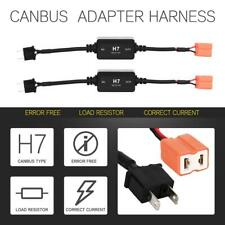 H7 LED Headlight Canbus Error Free Anti Flicker Resistor Canceller Ballasts 2x