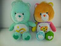 "20"" Care Bear Plush Lot of 2 Care Bear 2006 And 2003"