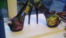 NEW Deep 7 multi colour stiletto shoes size 6