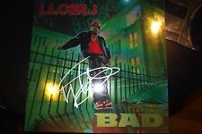 LL Cool J autogrpahed vinyl BAD LP signed in Silver on  Metallic Special Cover